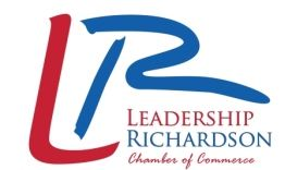 Leadership Richardson Chamber of Commerce program logo in red and blue